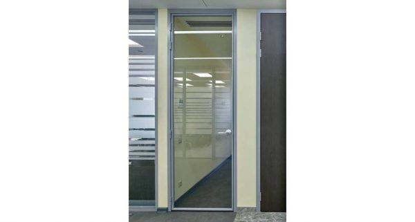 стеклянные двери Slim